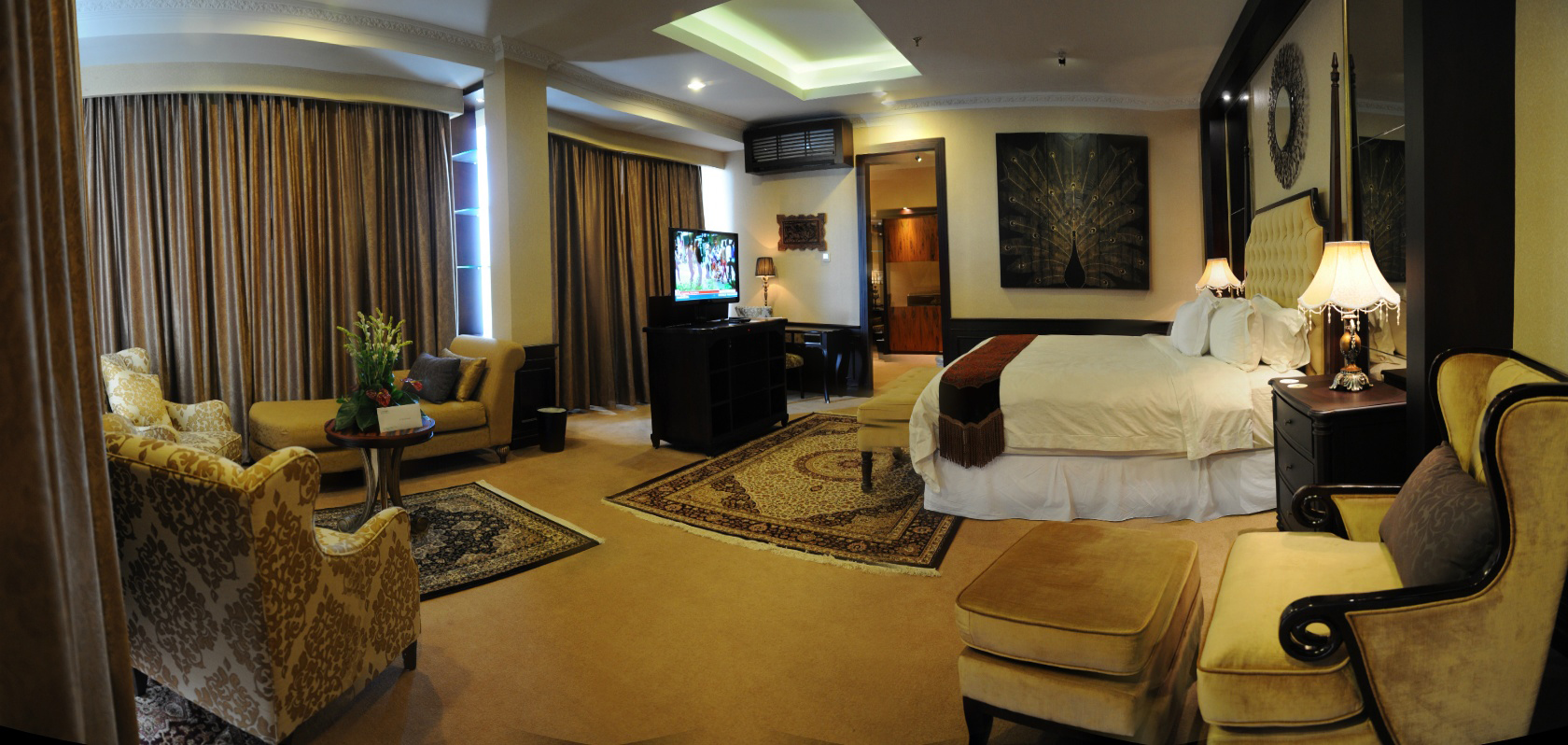 presidential suite room